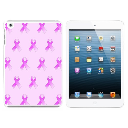 Graphics and More Breast Cancer Awareness Ribbons Snap On Hard Protective Case fits Apple 1st and 2nd Gen iPad Mini - (Awareness Ribbon Graphic)