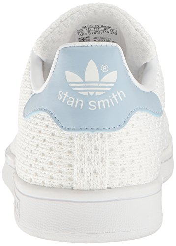 Stan White White Blue Adidas Smith Womens Easy Trainers Leather HWqW45wf