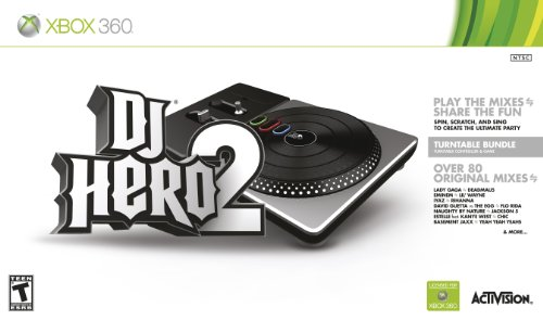 DJ Hero 2 Turntable Bundle -Xbox 360