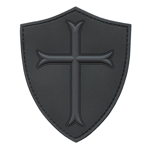 - Subdued ACU US Navy Seals DEVGRU Crusaders Templar Knight Cross Morale PVC 3D Touch Fastener Patch