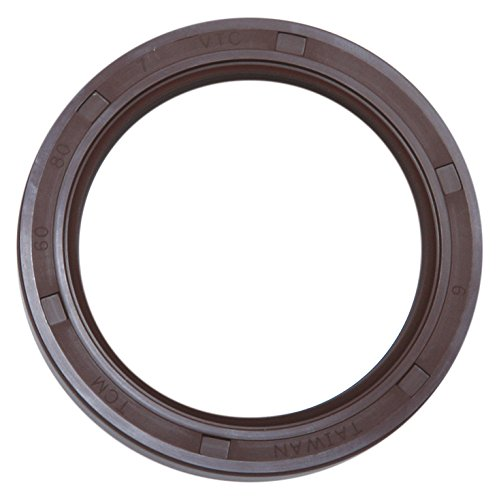1.260 x 1.890 x 0.315 TCM 32X48X8VTC-BX FKM//Carbon Steel Oil Seal TC Type