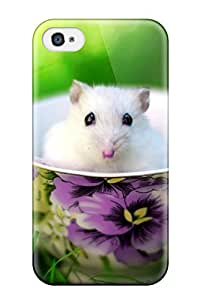 High Quality HeatherAPhillips Mouse In A Cup Skin Case Cover Specially Designed For Iphone - 4/4s
