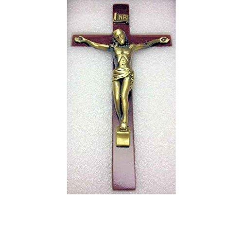 Wood Crucifix Wall Cross 6