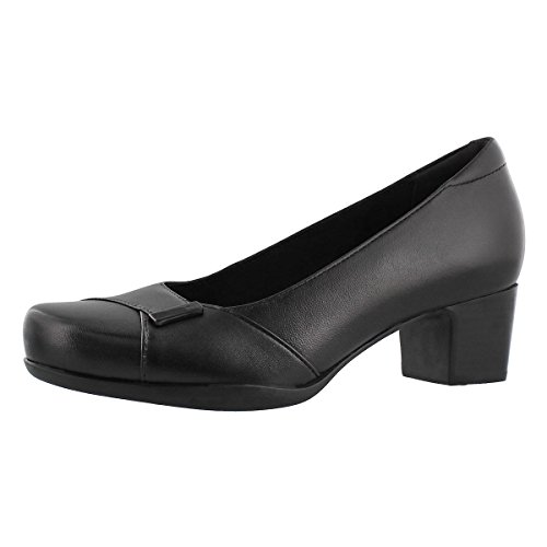 Black Women's Belle Pumps Rosalyn Clarks x1qpHw