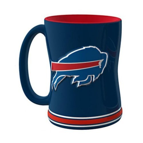 2015 NFL Football Coffee Mug - 14 ounce Ceramic Coffee Cup (Bills) (Mug Coffee Cup Nfl)