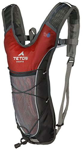 TETON Sports TrailRunner 2.0 Hydration Pack; Backpack for Hiking, Running and Cycling; Free 2-Liter Hydration Bladder 2 SATISFY YOUR THIRST FOR ADVENTURE: Lightweight and comfortable hydration backpack; This pack is a terrific companion to keep you hydrated while running, cycling, hiking or any adventure outdoors FREE HYDRATION BLADDER: BPA free, 2-Liter hydration bladder; Durable, kink-free sip tube and push-lock cushioned bite valve; Large 2-inch (5 cm) opening for ice and easy cleaning CUSTOMIZABLE COMFORT: Backpack for men, women, and youth; Adjusts to fit all frames; Comfortable mesh covered shoulder straps mean you can wear this pack for hours