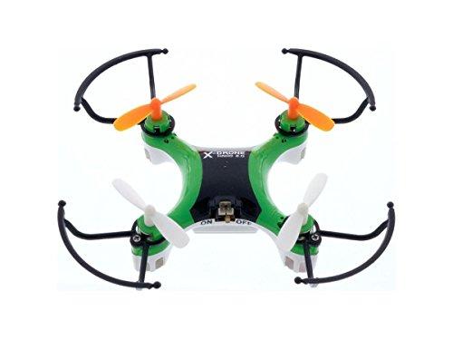 CLASSYTEK MYEPADS X-Drone Nano 2.0 Toy Drone - 2.40 GHz - Battery Powered - 0.10 Hour Run Time - 98.43 ft Operating Range - RF - Outdoor Indoor (Xdrone Battery Nano)