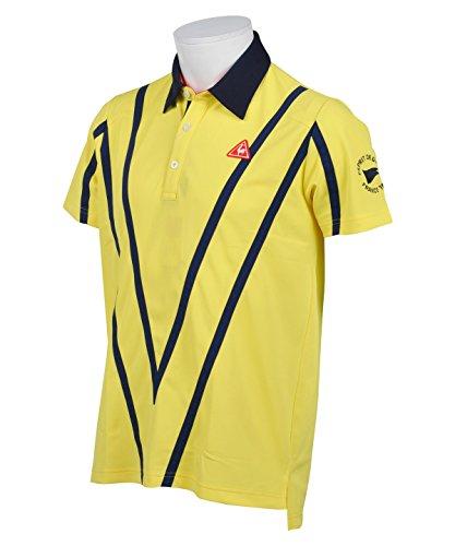 ルコック ゴルフウェア ポロシャツ 半袖 ドライストレッチ半袖ポロ QGMLJA11 YL00 LL
