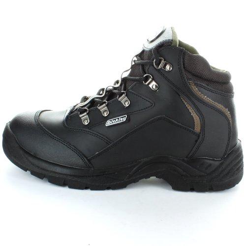 Cap Mens Work Black Hiker Steel Brown Boot Safety Berwick Toe Dickies fqYzdEaY