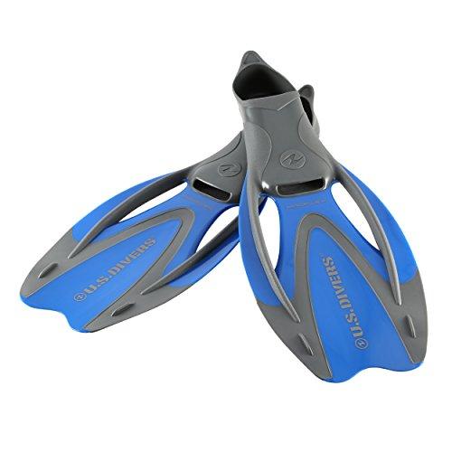 U.S. Divers Proflex II Snorkel Fins (Electric Blue). Adult Dual-Composite Blade Snorkeling Fins (Size Large. Range 9.5-11.5)