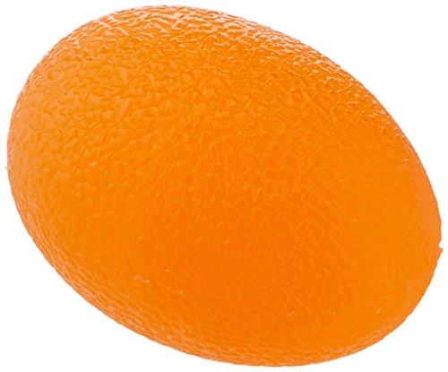 Sammons Preston Egg Shaped Hand Exerciser, Firm Orange Ball Exercisers for Finger Thumb Strength, Physical Therapy, Hand Rehabilitation, Stress Ball for Strengthening Exercises