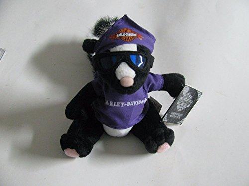 1999 HARLEY-DAVIDSON BEAN BAG PLUSH SKUNK - STARKE #GS4523 - NEW WITH TAG