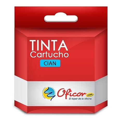 Cartucho de tinta Oficor T0612 Cian genérico compatible con ...
