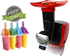 Wishing summer would never end? Trying to re-create summer memories? Now you can with the Uber Appliance Frozen Fruit Soft Serve Ice Cream Maker Machine!       With the Uber Appliance Frozen Fruit and Yogurt Soft Serve Machine, the pos...