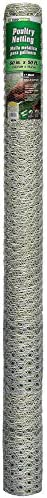 YARDGARD 308444A 5 Foot X 50 Foot 1 Inch Mesh Poultry Netting