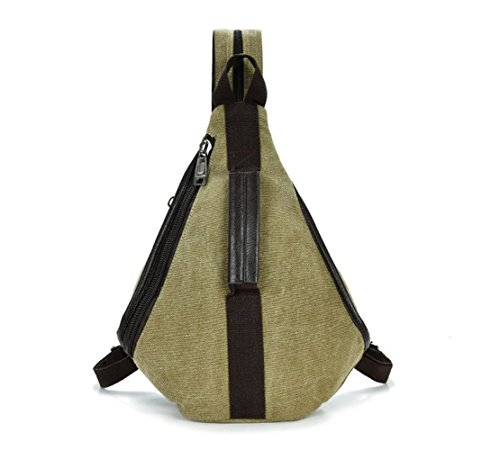 Womens Backpack Bag Blue Canvas Linnber nz74fvv