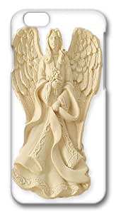 For HTC One M7 Case Cover -Serenity Blessing Angel Ornament PC For HTC One M7 Case Cover 3D
