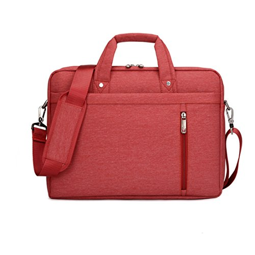 [해외]13 인치 큰 크기 나일론 컴퓨터 랩톱 솔리드 노트북 태블릿 가방 가방 케이스 내구성 붉은 색/13 Inch big size Nylon Computer Laptop Solid Notebook Tablet Bag Bags Case Durable Red Color