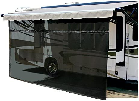 Carefree 701508 Black RV Awning EZ ZipBlocker