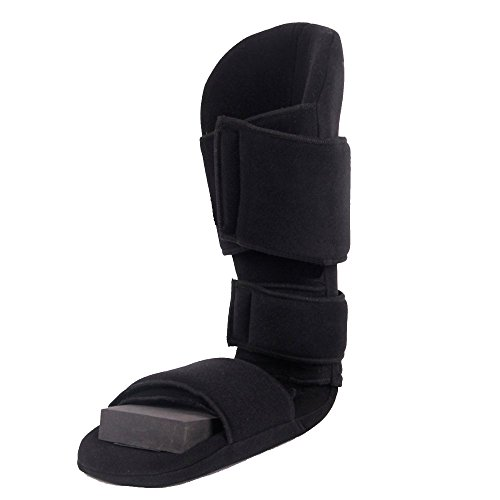 Padded 90 Degree Plantar Fasciitis Boot | Soft Dorsiwedge Night Splint to Stabilize Foot and Ankle, Stretches Plantar Fascia Ligament and Supports Achilles Tendon