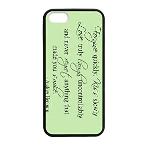 Audrey Hepburn Love Quote Case for iPhone for iPhone 5 5s case