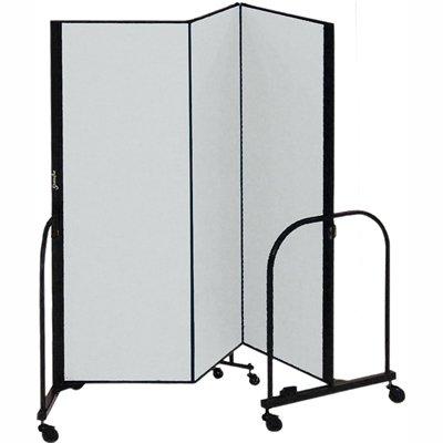 SCXCFSL503DG - Screenflex FREEstanding Portable Room (Screenflex Portable Room Partition Dividers)