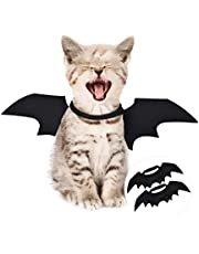 Komener Pet Bat Wings, Halloween Pet Costumes Clothes Outfit Felt Cloth Wing for Puppy Dog Cat