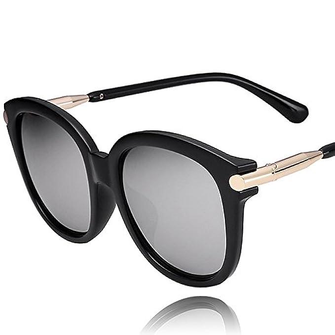 Da Occhiali Ragazza Ovali Tondo Viso Retrò occhiali Huopqlznwtdhn Colorati occhiali Riflettenti Sole occhiali