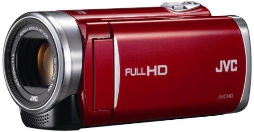 JVCKENWOOD JVC ビデオカメラ EVERIO GZ-E225 内蔵メモリー 8GB レッド GZ-E225-R
