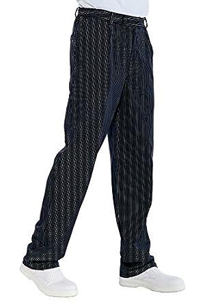 Isacco Pantalone Cuoco - Isacco Vienna Nero, Vienna Nero, 3XL, 65% Poliestere 35% Cotone 064151