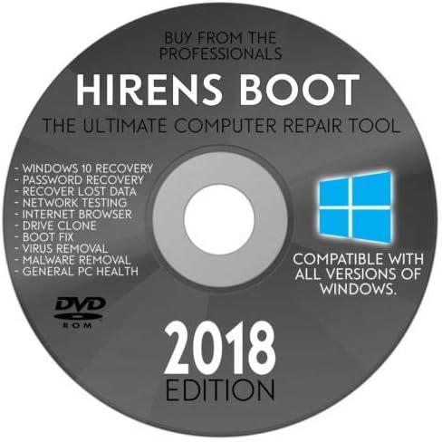 Hiren/'s Boot 15.2 USB PC Repair /& Virus Malware Removal Hirens Windows Drivers