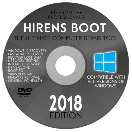 windows 10 recovery cd not booting