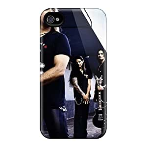 Bumper Hard Phone Covers For Iphone 4/4s (uxR19734ecSO) Allow Personal Design Realistic Bon Jovi Series