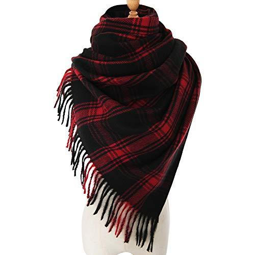 Womens Blanket Scarf Shawl Wrap  FURTALK Winter Soft Large Scarves With Fringe Dress Cover Up Wedding Bridesmaid Gift