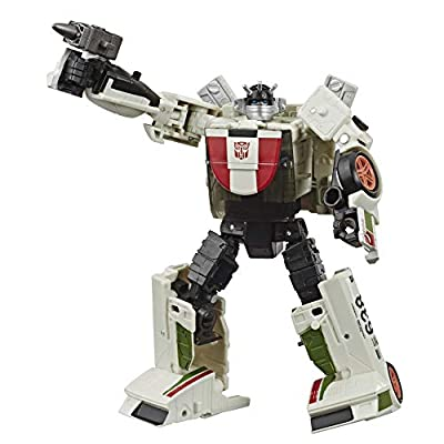 Transformers Toys Generations War for Cybertron: Earthrise Deluxe Wfc-E6 Wheeljack Action Figure - Kids Ages 8 & Up, 5: Toys & Games