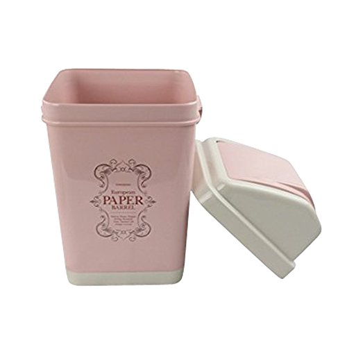 Nicesh Gallon Trash Plastic pink product image
