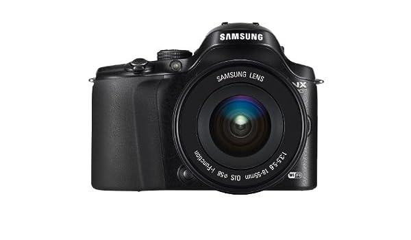 Samsung EV-NX20ZZBSBES - Cámara Smart 20.3 MP (estabilizador de Imagen, Pantalla giratoria Amoled de 3 Pulgadas): Amazon.es: Electrónica