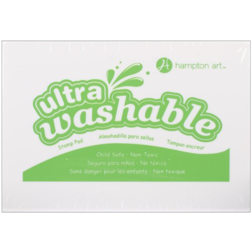 Hampton Art Green Washable Ink Pad