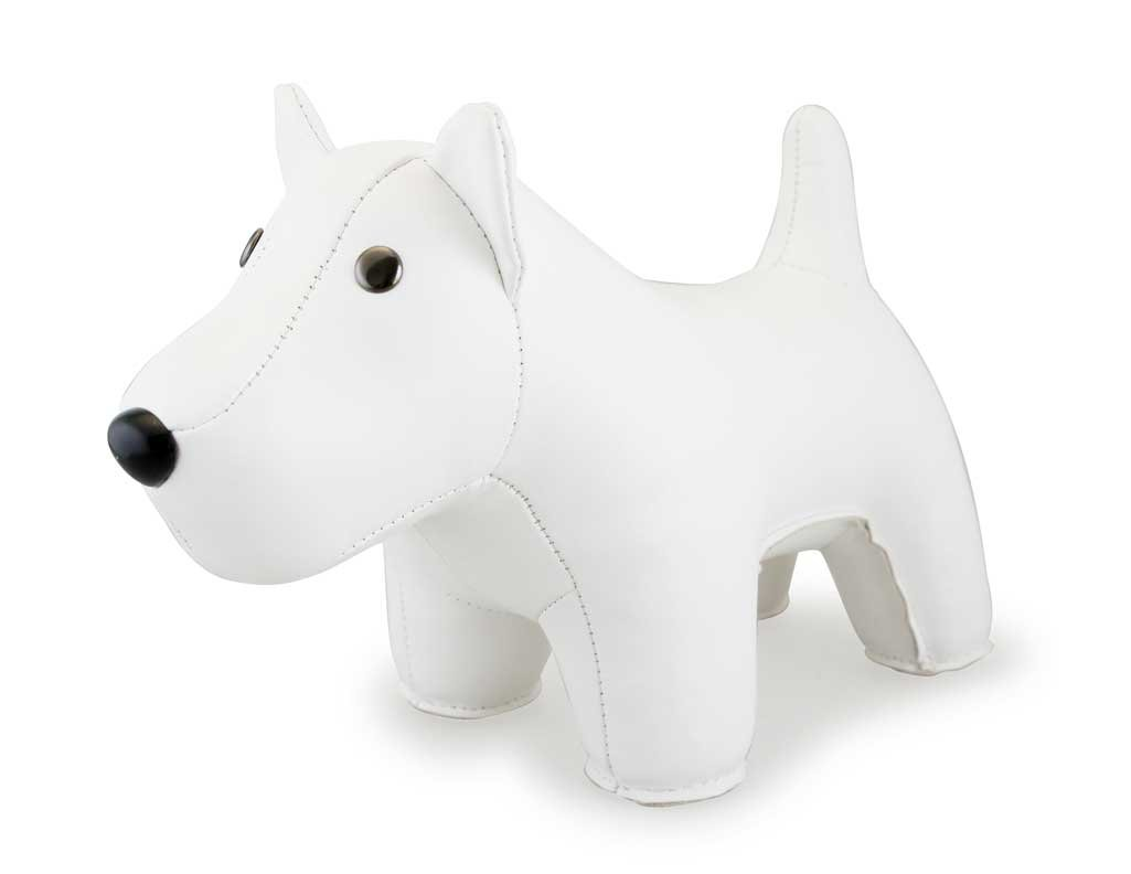 Zuny Classic Series West Highland Terrier White Animal Bookend