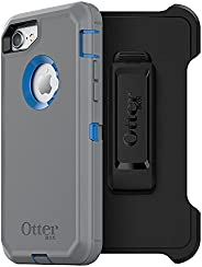 OtterBox DEFENDER SERIES Case for iPhone SE (2nd gen - 2020) and iPhone 8/7 (NOT PLUS) - Retail Packaging - MA