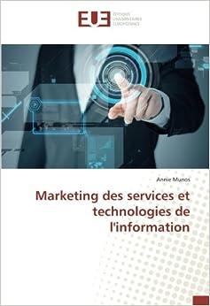 Book Marketing des services et technologies de l'information (French Edition)