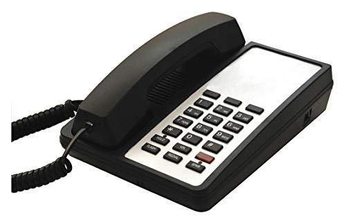 Hospitality Telephone, Analog, Wall or Desk Black