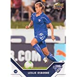 2011 Upper Deck MLS Soccer #186 Leslie Osborne RC Rookie Card Boston Breakers Super Draft Official Major League Soccer Trading Card From UD