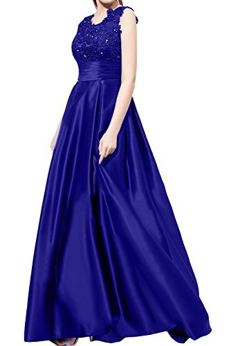 Vestido marino mujer trapecio Topkleider para azul HUdxqKSw6