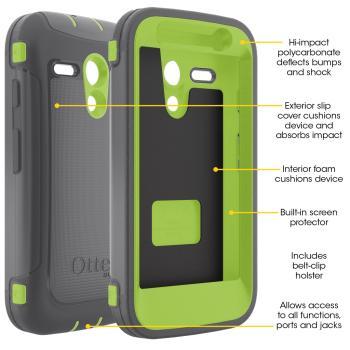 OtterBox Defender Series Case for Motorola Moto G. Motorola Moto G phone case