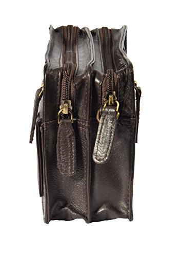 Sac Noir Leather Vrai Marron Ralf Conception Cuir House Of Poignet Italien S80HUqw
