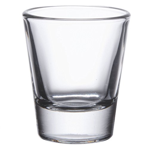 Gmark 1.5-Ounce Heavy Base Shot Glass Set, Whiskey Shot Glass 12-Pack GM2011