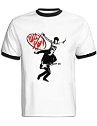 Mens Hall & Oates Short Sleeve Ringer T Shirts