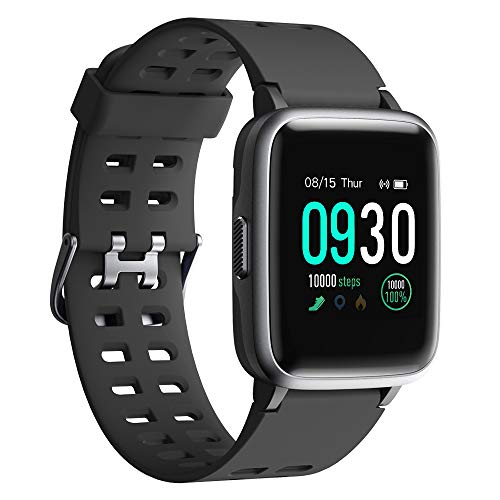 Willful Smart Watch 2019 Version Swimming Waterproof IP68, Fitness Tracker Watch with Heart Rate Monitor Sleep Tracker,Smartwatch Compatible with iPhone Android Phones for Women Men Kids (Black) (Best Note App For Android 2019)