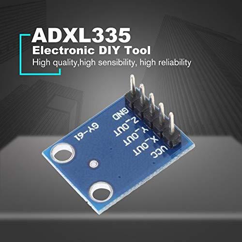 Blue GY-61 ADXL335 3-Axis Analog Output Accelerometer Angular Transducer 3-5V Triaxial Gravity Tilt Board For Arduino Sensor Module